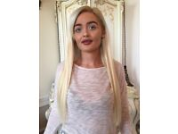 £150 FULL HEAD OD 18 OR 20 INCH PREBONDED HAIR EXTENSIONS (based on fine to medium textured hair)
