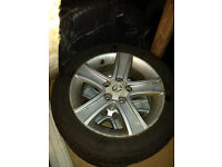 4x Continental Winter Contact tyres 205/55/16