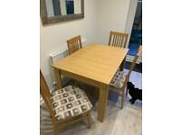 Dining Table&4xchairs