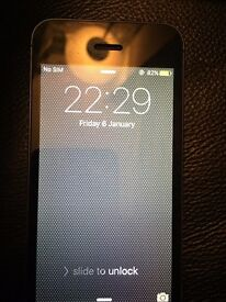 iPhone 5 (faulty but still works)