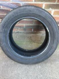 Bridgestone 205/55/16 approx 6mm
