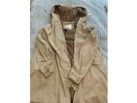 Zara ladies rain jacket