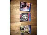 3 PS4 games!