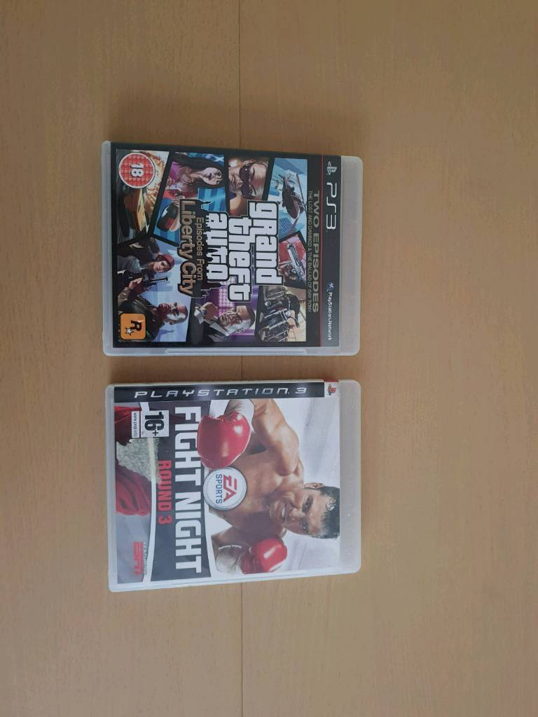 PS3 GTA Liberty city stories & Fight night round 3 | in Bishop Auckland,  County Durham | Gumtree
