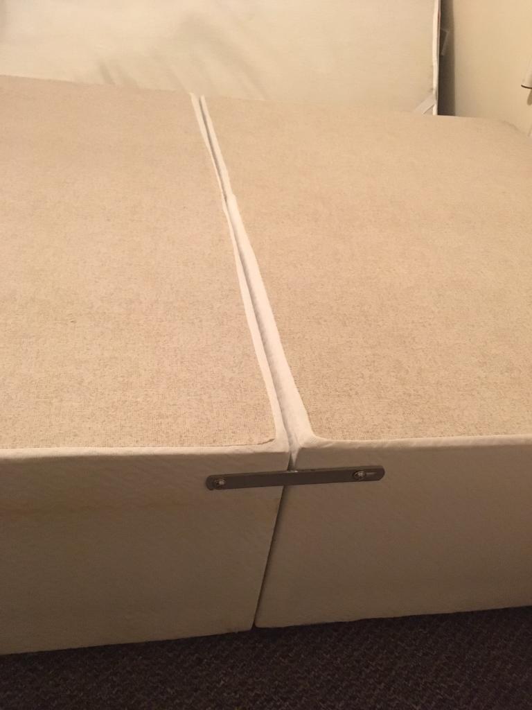 Double Bed Base w/ Headboard
