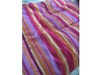 Vintage full size single cotton sleeping bag used once