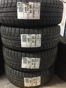 195/65/15 Michelin X-Ice Xi (winter)