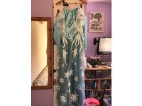 Size 16-18 Elsa costume and wig