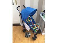 Mothercare nanu stroller & original raincover pram/pushchair 💥💥 £25 💥💥