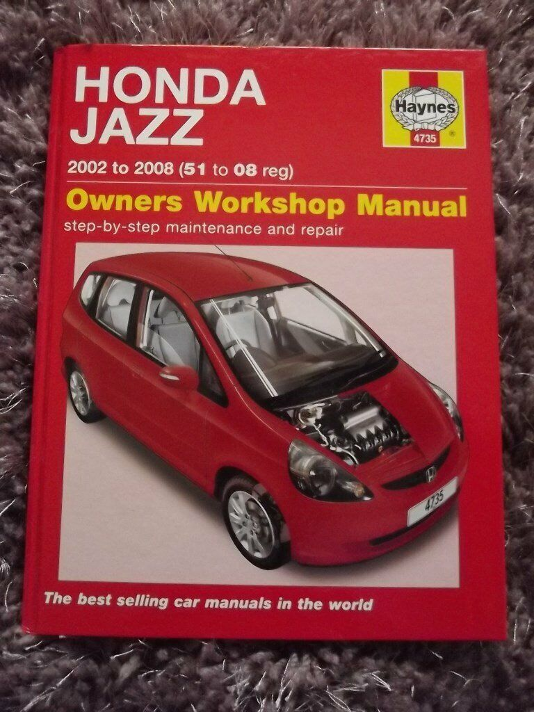 Honda Jazz Workshop Manual New Cost 20 In Cookstown