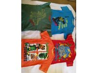 ♦️Bundle of boys clothes (T-shirts and jumpers age 3-4 and 5-6 years and joggers 5-6) ♦️