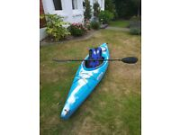 Jive Islander Kayak + Paddle + XL life jacket