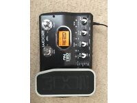 Zoom G2.1nu Guitar Multi-effects Pedal Unit (used excellent condition)