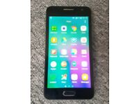 SAMSUNG GALAXY A3 MINT AND BLUE AND OPEN TO ALL NETWORK,