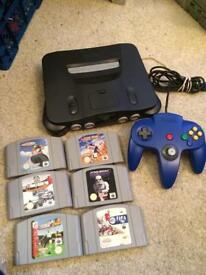 Nintendo n64 bundle