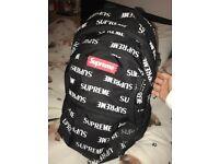 Supreme Backpack (Paid £179.99)