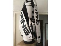 PING Karsten - Golf Tour Trolley Bag *VGC*