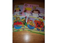 5x books 3x Little Princess & the abc & 123 train
