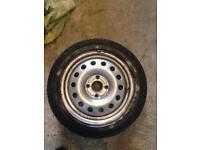 Ford spare steel wheel 195/50/R15