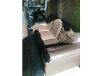 Barker and stone House leather sofa 2 and 3 seater