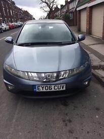 Honda civic 1.8 automatic full one year MOT