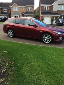 Mazda6 Sport estate, low mileage,very reliable, high spec