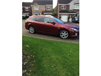 Mazda6 Sport estate, low mileage,very reliable, high spec
