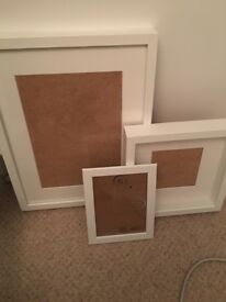 IKEA picture frames - white