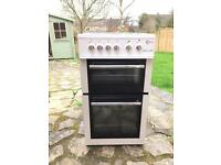 Electric fan oven and separate grill