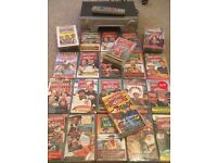 Massive Bundle Only Fools & Horses VHS Video Tapes + Sharp VC-MH713 Video Recorder