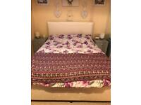 Rise and recline king size bed