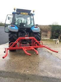 Bale handling available