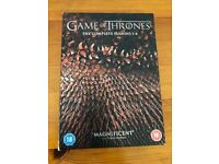 GAME OF THRONES DVD THE COMPLETE SEASON 1-4 SET
