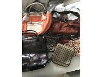 Assortment if handbags