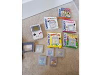 Retro Gameboy and Gameboy colour +games