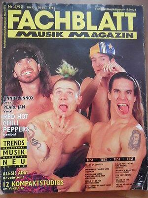 FACHBLATT MUSIK MAGAZIN 5 - 1992 Red Hot Chilli Peppers Annie Lennox Halloween