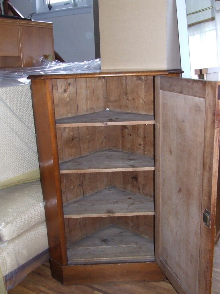 Corner Unit Period Item Mahogany Wood Free Delivery Within Edinburgh