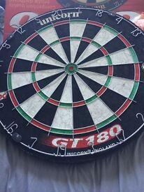 brand new unicorn dartboard