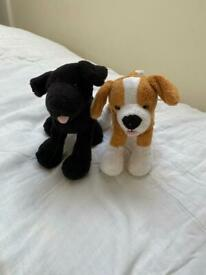 Soft Toy Dogs (finger puppets)