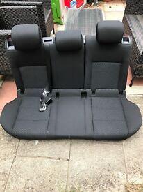 Vw golf mk6 rear seats + head rests