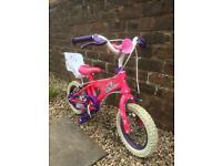 Girls bike, 12 inch bike, childs bike , pink, purple, 12""