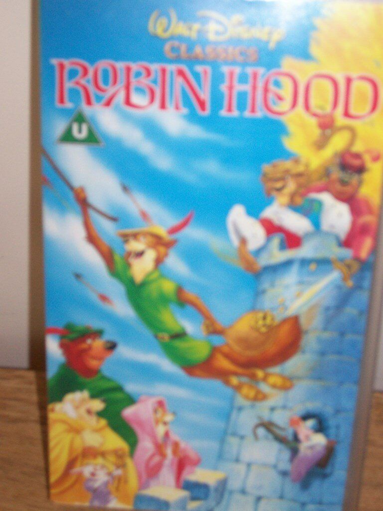 Disney VHS Films