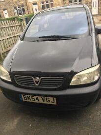 Vauxhall zafira design dti 16v