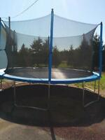 """14"""" Trampoline barely used"""
