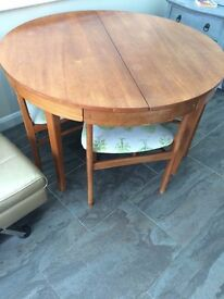 Stylish Dutch G Plan Extending Table and Chairs