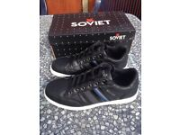 Mens Soviet Casual trainers as new size 8