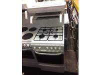White Cannon 50cm high fuel LPG gas cooker grill & oven good condition with guarantee bargain
