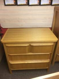 Marks & Spencer solid oak bedroom set * free furniture delivery*