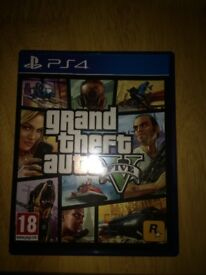 Grand Theft Auto 5 PS4 good condition