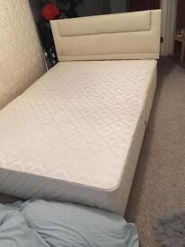 DOUBLE BED INC mattress & headboard